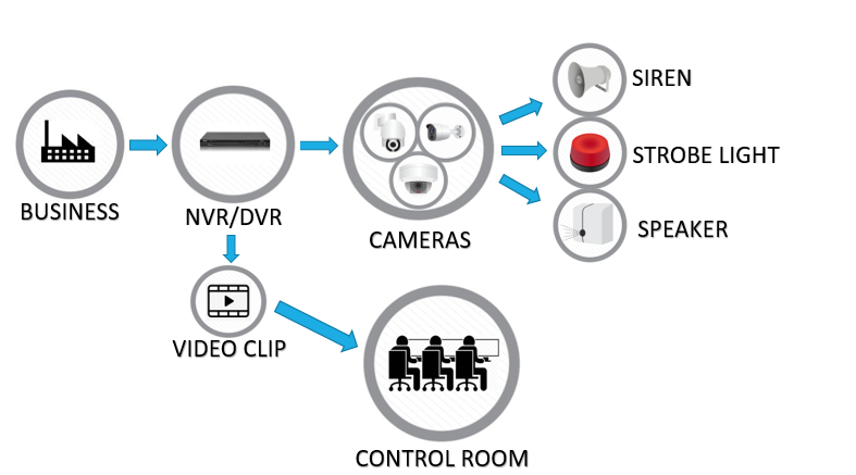 Offsite camera monitoring