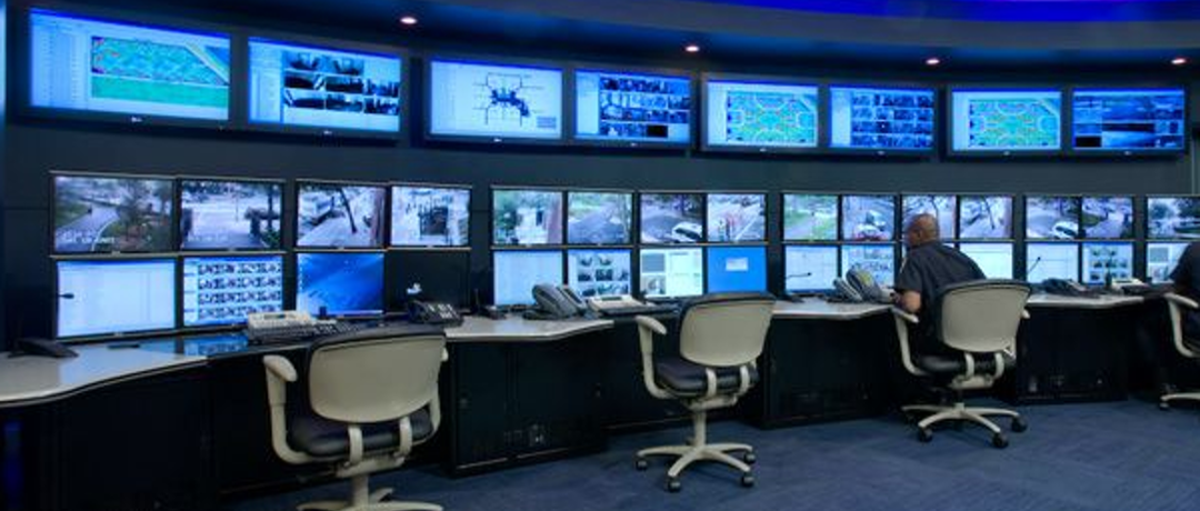 Security Monitoring Control Room